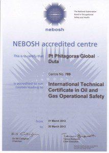 Sertifikat Nebosh ITC