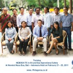 Training NEBOSH Oil and Gas Certificate Batch I February 21 – 25 2011 at Bali, Indonesia
