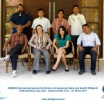 Pelatihan NEBOSH International General Certificate in Occupational Safety and Health Batch IX, March 14 – 26, 2011 at Bali Indonesia