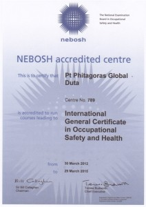 training nebosh, nebosh indonesia, nebosh