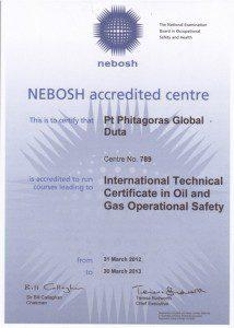 nebosh, training nebosh, nebosh indonesia