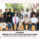 Training NEBOSH Oil and Gas Operational Safety Batch II, Bandung 2 – 6 Mei 2011