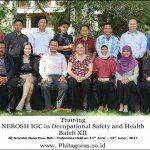 Training NEBOSH IGC Batch X, 11 – 23 July 2011 di Hotel Novotel Nusa Dua Bali Indonesia