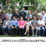 Training Nebosh Oil and Gas Operational Safety, Bali 12 – 16 December 2011