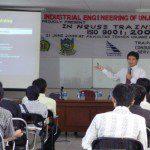 Training ISO 9001:2008 untuk mahasiswa di UNJANI, Bandung 21 Juni 2009