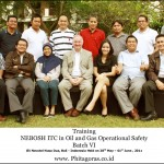 Training Nebosh ITC Oil and Gas Operational Safety Batch VI, Bali 28 Mei – 1 Juni 2012