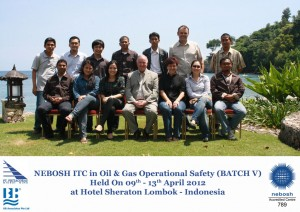 NEBOSH ITC Oil and Gas April 2012
