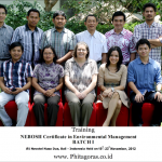 Training NEBOSH Certificate in Environmental Management Batch I 19 – 23 November 2012