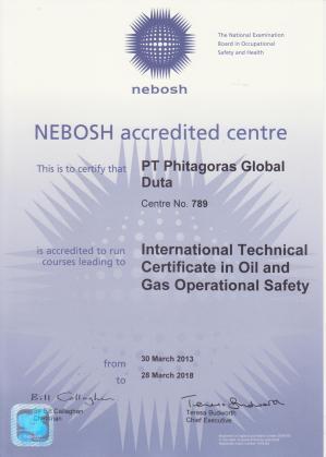 nebosh certificate