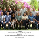 Training Nebosh IGC in Occupational Safety and Health, Bali 16 – 28 September 2013