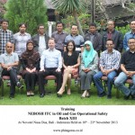 Training Nebosh ITC in Oil and Gas Operational Safety Batch XIII, Bali 18 – 23 November 2013