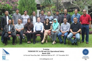 NEBOSH TRAINING ITC BATCH XIII