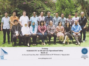 Training Nebosh ITC Oil and Gas Operational Safety