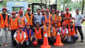 Training Operator Forklift Kemenakertrans RI