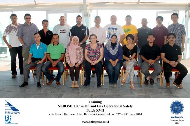 Training NEBOSH ITC BATCH XVII