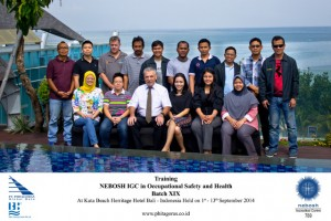 Training NEBOSH IGC in Occupational Health and Safety
