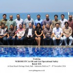 Training Nebosh ITC in Oil and Gas Operational Safety Batch XIX, Kuta Bali 3 – 8 November 2014