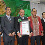 Penyerahan Sertifikat ISO 9001:2008 Pengadilan Agama Jakarta Selatan, Jakarta 17 Juni 2015