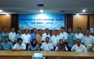In House Training Pemahaman dan Internal Audit ISO 9001 2015 B2TKS BPPT
