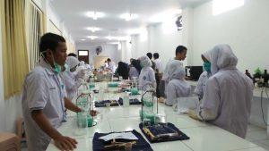 k3 laboratorium SMK SMAK Makassar
