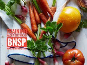 Training HACCP Sertifikasi BNSP