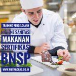 Training Pengelolaan Higiene Sanitasi Makanan Sertifikasi BNSP, BSD Serpong, 22 – 24 November 2017