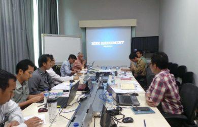 In House Training HSE Risk Assessment PT JGC Indonesia, Jakarta 9-10 November 2016