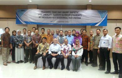 In House Training HSE Risk Assessment PT Reasuransi Nasional Indonesia, 15 Desember 2016