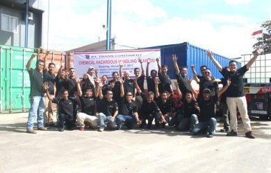 In House Training Chemical Hazardous Handling PT Trans Continent, Tangerang Selatan, 6 - 7 Januari 2017