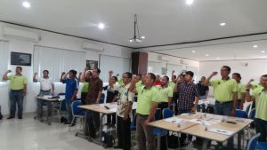 In house Training 5S Implementation (batch 2), PT Sawit Sumbermas Sarana 26 - 27 Januari 2017