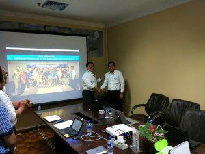 Kick Off Meeting Konsultasi ISO 90012015 PT Widar Mandripa Nusantara, 6 Maret 2017