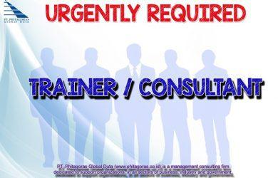 Lowongan kerja phitagoras trainer & consultant