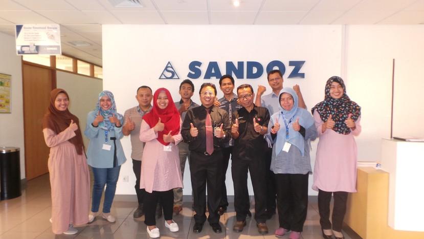 Pendampingan Training Audit Internal ISO 14001 & OHSAS 18001 PT Sandoz Indonesia Oleh Phitagoras Consulting Divison