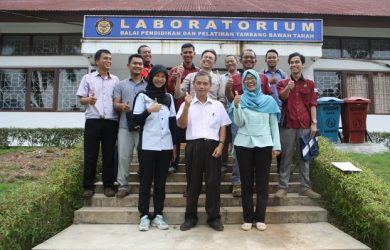 In House Training Laboratory Preparation ISO 17025: 2008 Balai Diklat Tambang Bawah Tanah, Padang 29 - 31 Mei 2017