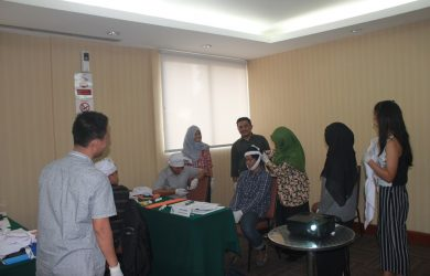 Training First Aid Sertifikasi Kemnaker, 6 - 8 Juni 2017