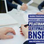 Training Perancangan Program dan Modul Pelatihan Sertifikasi BNSP, BSD Serpong, 7 – 9 November 2017