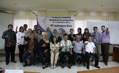 In House Training Accident Investigation PT indospec Asia, 5 - 6 September 2017