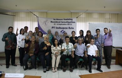 In House Training Accident Investigation PT indospec Asia, 5 - 6 September 2017