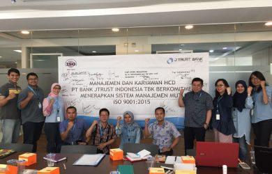 Kick Off Meeting Konsultasi ISO 90012015 PT JTrust Bank Indonesia, 13 Oktober 2017