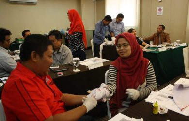 Training First Aid Sertifikasi Kemnaker, 22 - 24 Agustus 2017