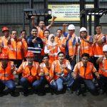 Inhouse Training Sertifikasi Operator Forklift PT Matahari Putra Prima, 2 – 4 Oktober 2017