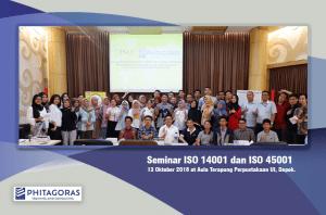 Foto Bersama Kegiatan Seminar ISO 14001 dan ISO 45001