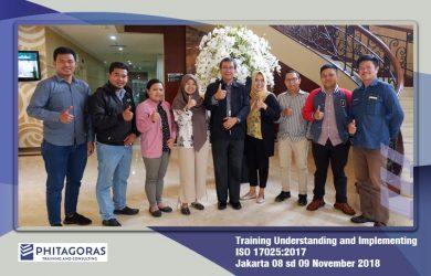 Kegiatan Training Understanding and Implementing ISO/IEC 17025:2017