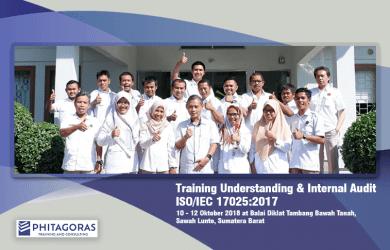 Foto Bersama Kegiatan Training Understanding & Internal Audit ISO/IEC 17025:2017