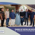 Training SOP Writing & Improvement, Jakarta 14 – 15 November 2018