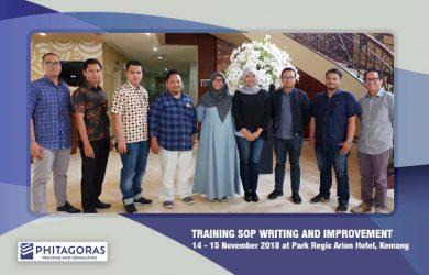 Foto Bersama Training SOP Writing & Improvement