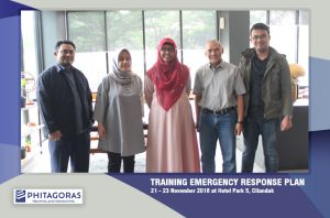 Foto Bersama Training Emergency Response Plan (ERP)