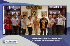 Foto Bersama Training Hazops Seritifikasi BNSP