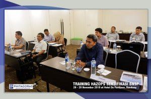 Foto Kegiatan Training Hazops Sertifikasi BNSP
