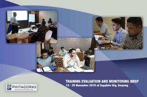 Kegiatan Training Evaluation and Monitoring